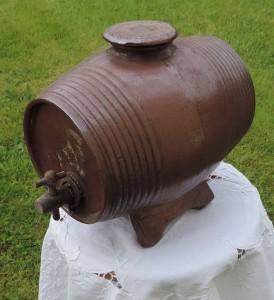 vinaigrier en terre cuite XIXème