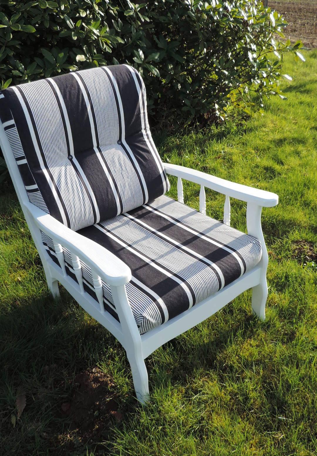 fauteuil relook brocanta. Black Bedroom Furniture Sets. Home Design Ideas