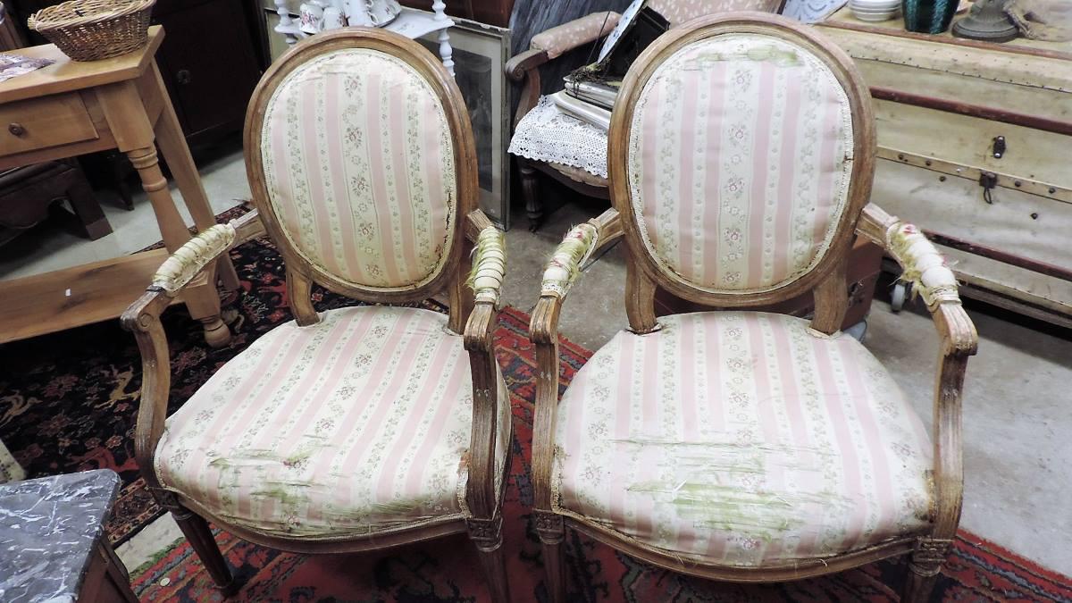 Refaire Un Fauteuil Louis Xvi fauteuils | brocanta | page 3